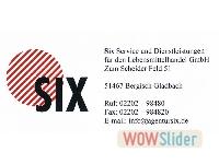 Logo SIX GmbH
